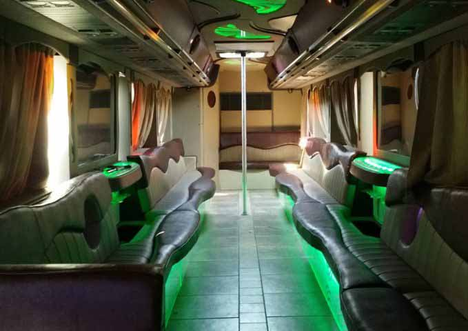 Fairfield 40 Passenger Party Bus