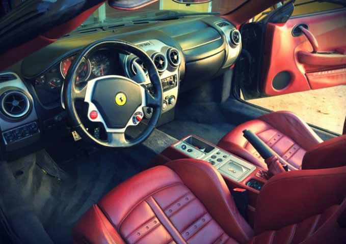 Fairfield Ferrari F430 Rental Service